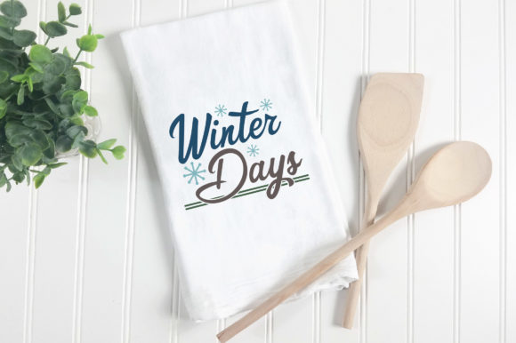 Print on Demand: Winter Days Cut File Graphic Crafts By oldmarketdesigns - Image 4