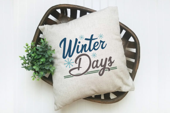 Print on Demand: Winter Days Cut File Graphic Crafts By oldmarketdesigns - Image 5