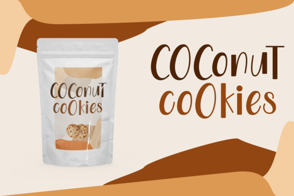Print on Demand: The Little Coconut Display Font By Dani (7NTypes) - Image 2