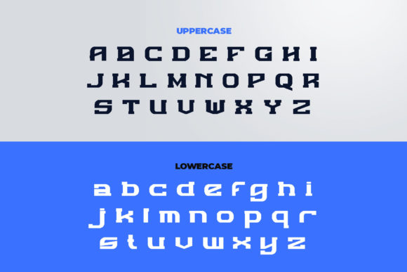 Print on Demand: Defour Display Font By ovoz.graphics - Image 5