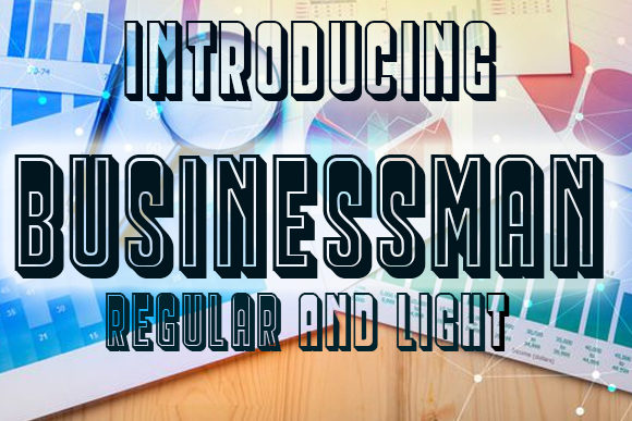 Print on Demand: Businessman Display Font By vladimirnikolic - Image 1