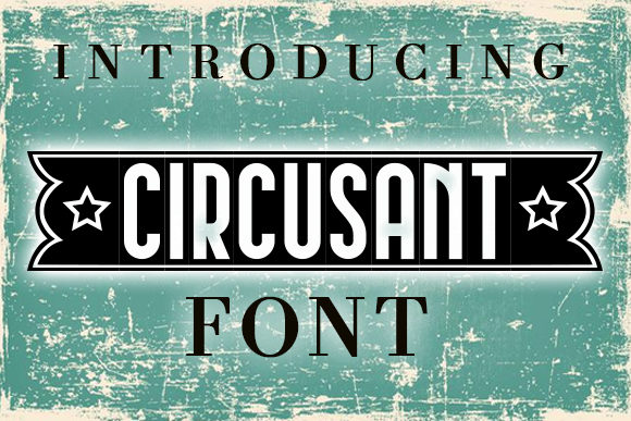 Print on Demand: Circusant Decorative Font By vladimirnikolic - Image 1
