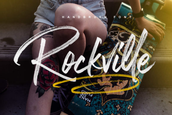 Print on Demand: Rockville Color Fonts Font By Ardian Nuvianto