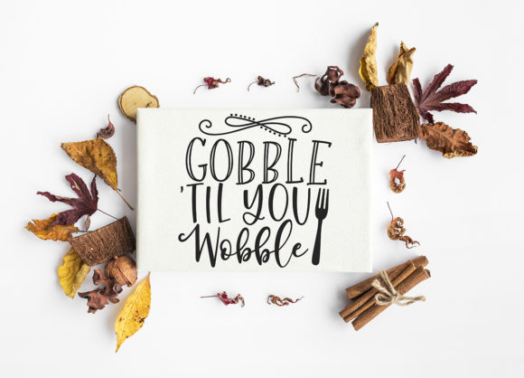 Print on Demand: Thanksgiving Bundle Fall Quotes Graphic Crafts By freelingdesignhouse - Image 3