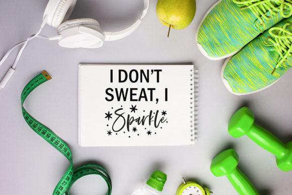 Fitness SVG Bundle Workout Quotes Gym Graphic Crafts By freelingdesignhouse - Image 6