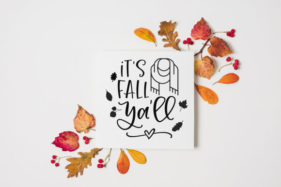 Download Free Fall Autumn Bundle Graphic By Freelingdesignhouse Creative Fabrica for Cricut Explore, Silhouette and other cutting machines.
