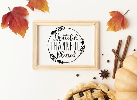 Print on Demand: Thanksgiving Bundle Fall Quotes Graphic Crafts By freelingdesignhouse - Image 6