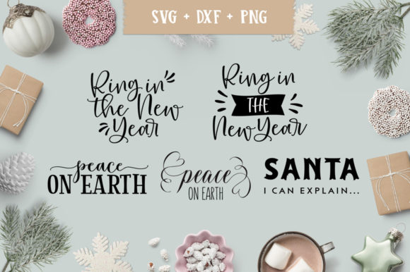 Christmas/Holiday Quotes SVG Bundle Graphic Crafts By freelingdesignhouse - Image 8