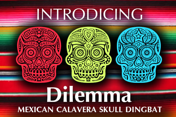 Print on Demand: Dilemma Dingbats Font By vladimirnikolic