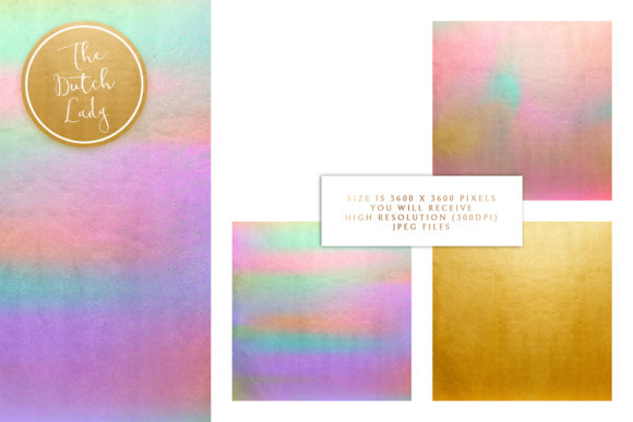 Print on Demand: Digital Backgrounds Golden Night Skies Graphic Backgrounds By daphnepopuliers - Image 3