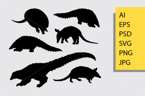 Anteater Animal Silhouette Graphic Illustrations By Cove703