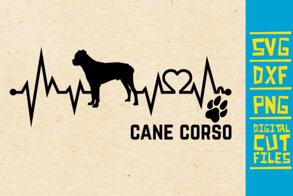 Cane Corso Dog Svg Graphic By Svgyeahyouknowme Creative Fabrica