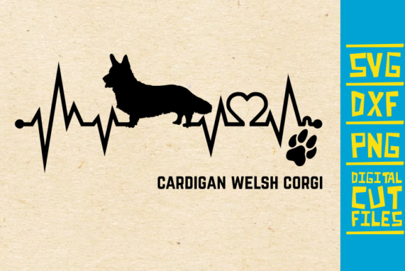 Download Free Cardigan Welsh Corgi Dog Svg Graphic By Svgyeahyouknowme for Cricut Explore, Silhouette and other cutting machines.