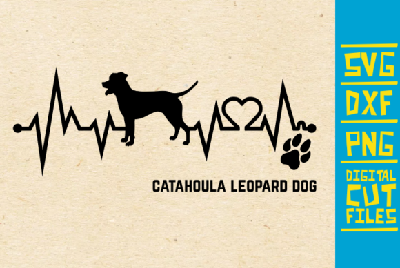 Catahoula Leopard Dog Svg Graphic By Svgyeahyouknowme Creative