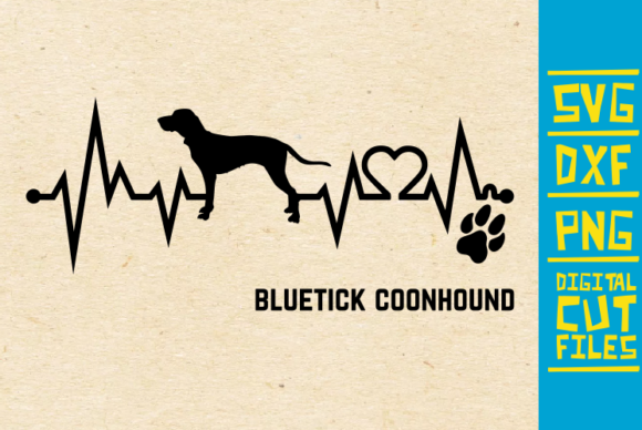 Download Free Bluteck Coonhound Dog Svg Graphic By Svgyeahyouknowme Creative for Cricut Explore, Silhouette and other cutting machines.