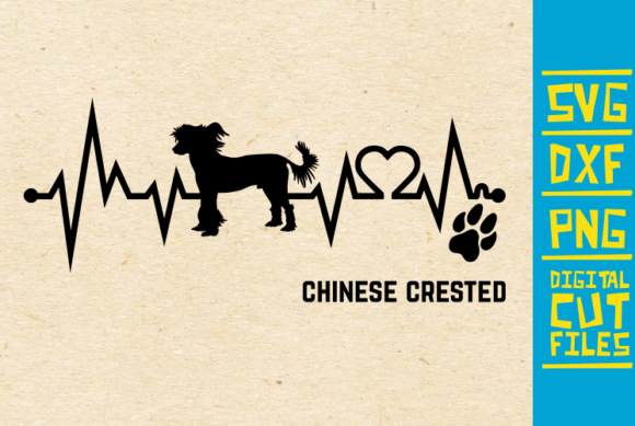 Download Free Chinese Crested Dog Svg Graphic By Svgyeahyouknowme Creative Fabrica for Cricut Explore, Silhouette and other cutting machines.