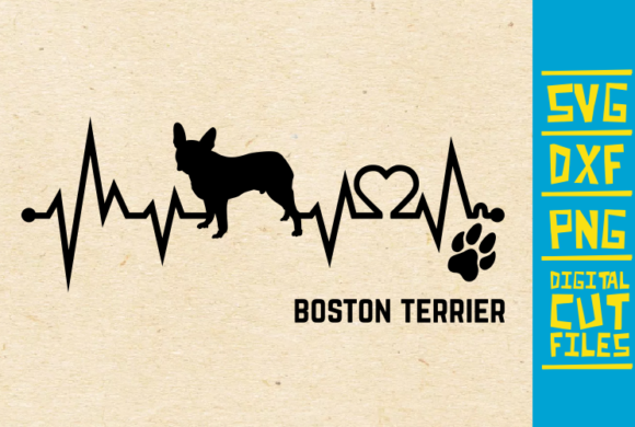 Download Free Boston Terrier Dog Svg Graphic By Svgyeahyouknowme Creative for Cricut Explore, Silhouette and other cutting machines.