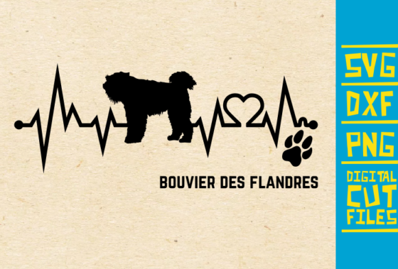 Download Free Bouvier Des Flandres Dog Svg Graphic By Svgyeahyouknowme for Cricut Explore, Silhouette and other cutting machines.