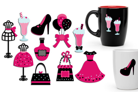 Print on Demand: Bachelorette Party Bundle Graphic Illustrations By Revidevi - Image 3