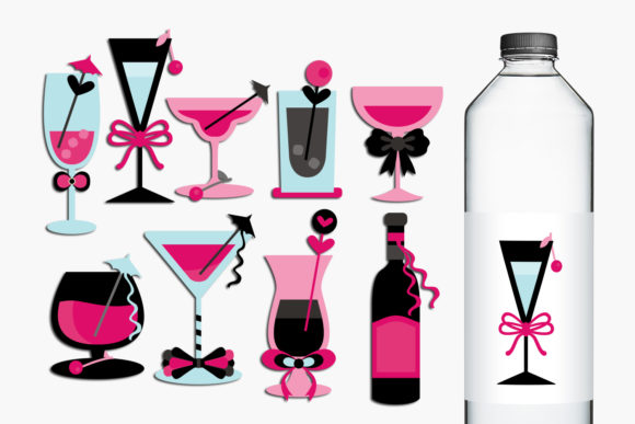 Bachelorette Party Bundle Graphic Design