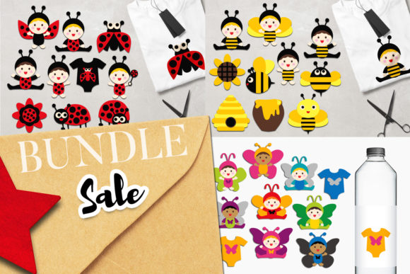 Print on Demand: Baby Clip Art Bundle Graphic Illustrations By Revidevi