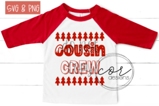 Download Free Cousin Crew Graphic By Designscor Creative Fabrica for Cricut Explore, Silhouette and other cutting machines.