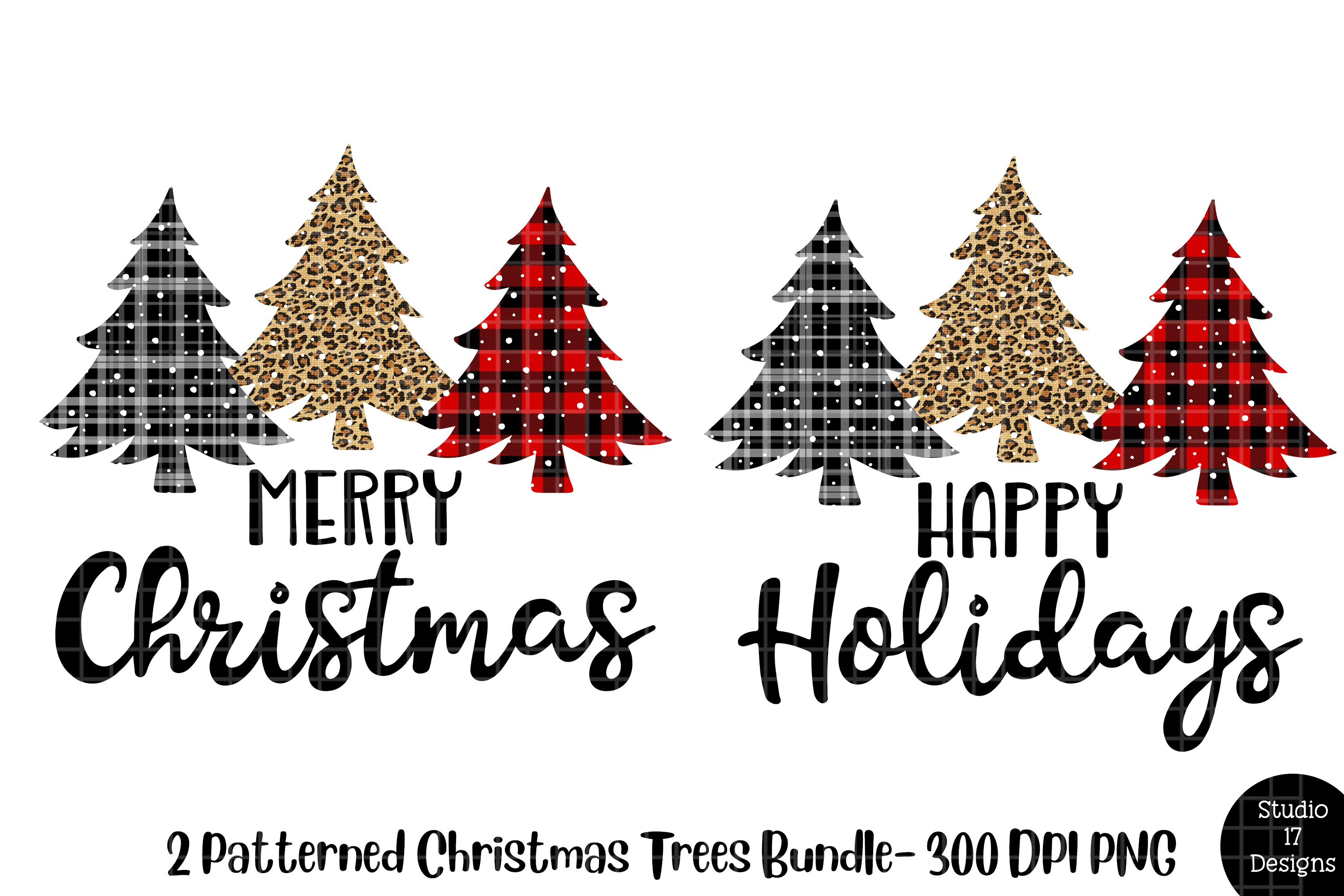 Download Free Buffalo Plaid Christmas Tree Png Graphic By Studio 17 Designs for Cricut Explore, Silhouette and other cutting machines.