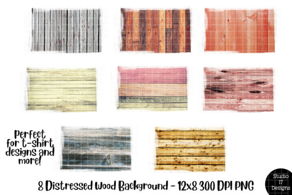 Print on Demand: Wood Backsplash for Sublimation Graphic Illustrations By Studio 17 Designs