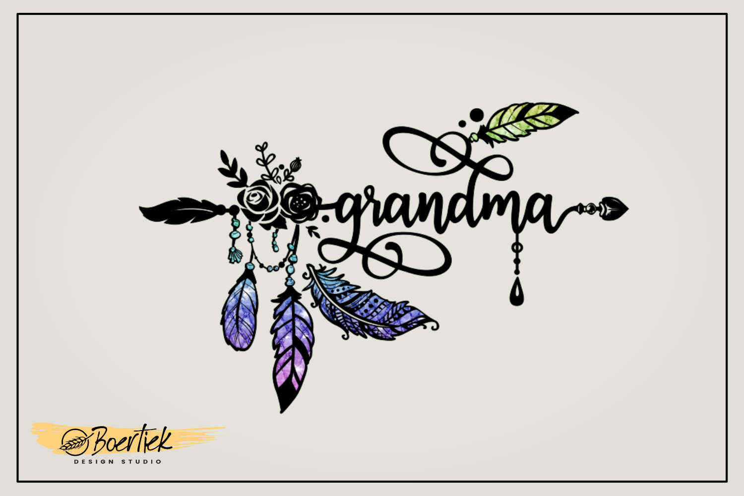 Download Free Grandma Graphic By Boertiek Creative Fabrica for Cricut Explore, Silhouette and other cutting machines.