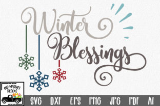 Download Free Winter Blessings Cut File Graphic By Oldmarketdesigns Creative SVG Cut Files