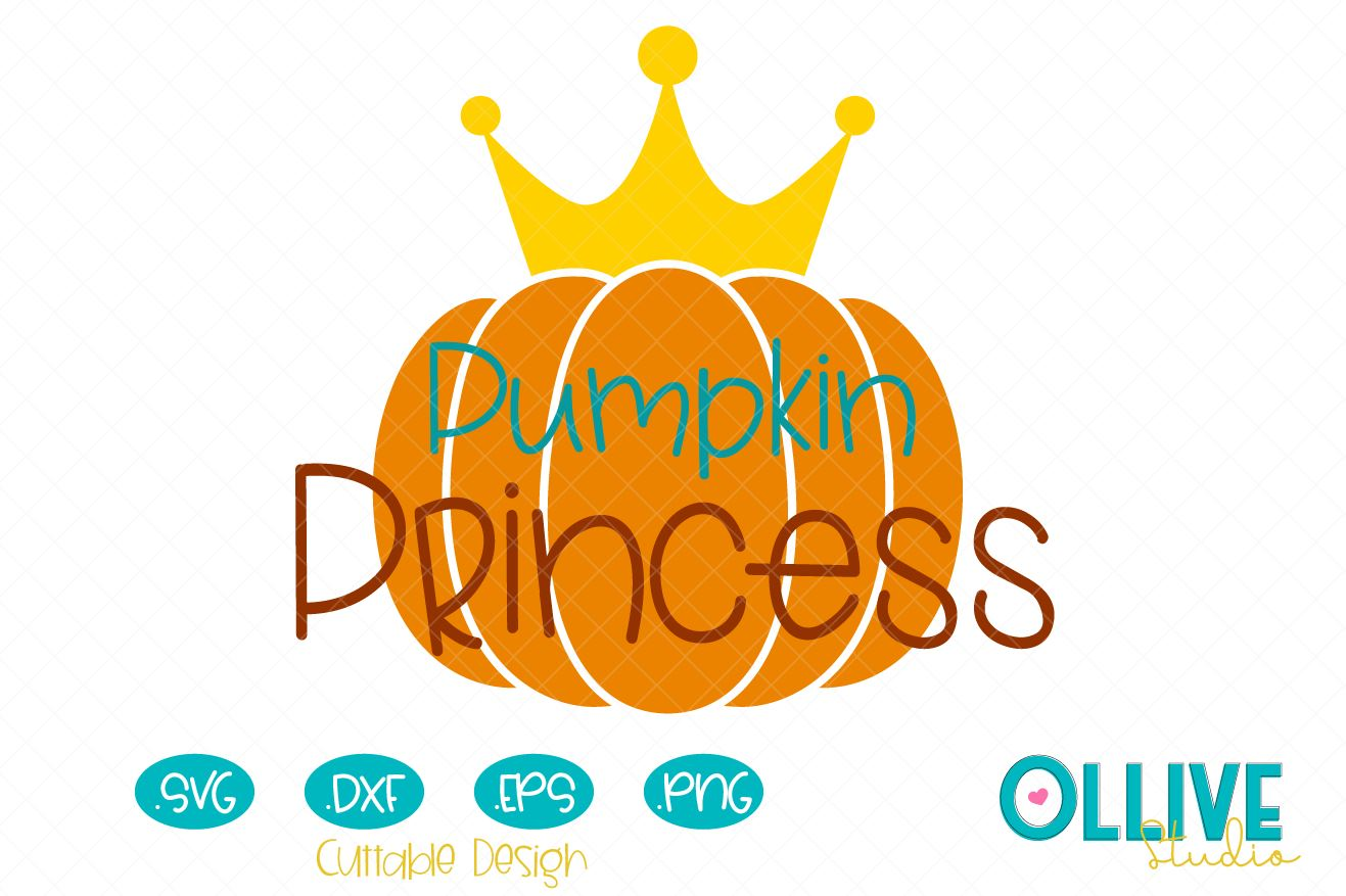 Download Free Pumpkin Princess Fall Svg Graphic By Ollivestudio Creative Fabrica for Cricut Explore, Silhouette and other cutting machines.