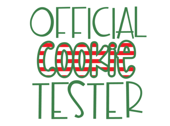 Official Cookie Tester Graphic Crafts By TheSmallHouseShop