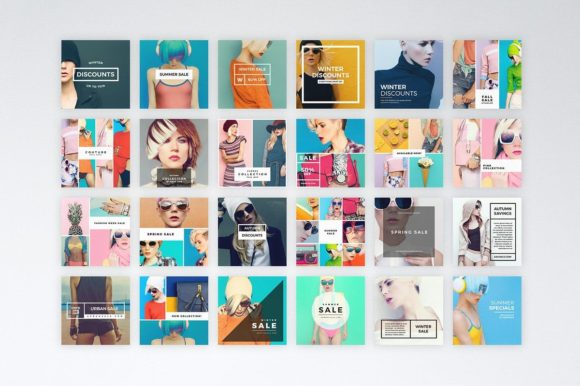 Print on Demand: Instagram Commerce Template Graphic Websites By Ghosmod