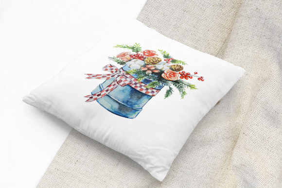 Print on Demand: Christmas Watercolor Food Decoration Graphic Illustrations By PawStudio - Image 10