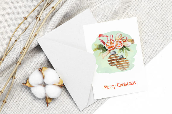 Print on Demand: Christmas Watercolor Characters Set Graphic Illustrations By PawStudio - Image 6
