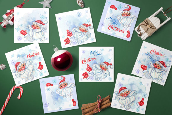 Merry Christmas. Graphic Illustrations By grigaola - Image 6