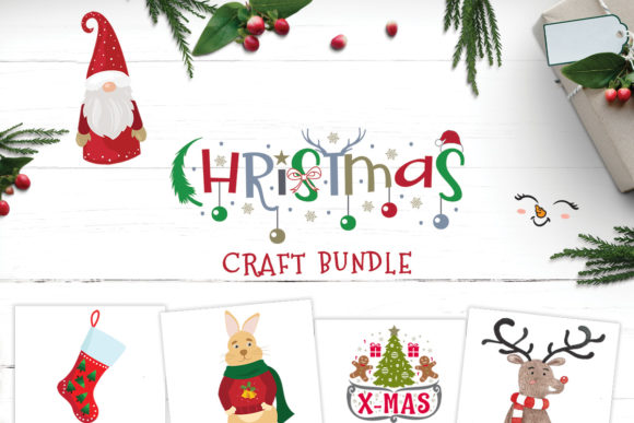 10 Christmas Designs Gráfico Por Creative Fabrica Graphics
