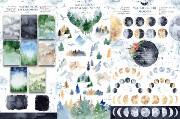 Woodland Story Vol.2 Foxes Graphic Illustrations By EvgeniiasArt - Image 6