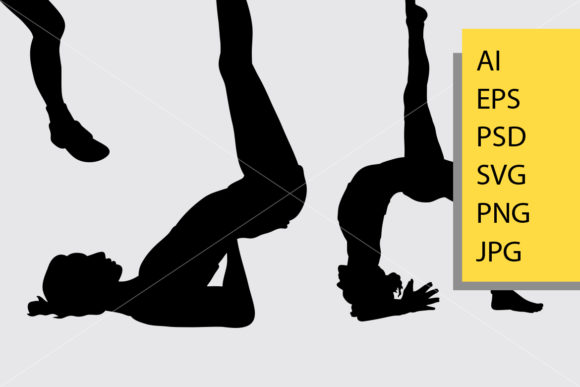 Workout 1 Sport Silhouette Graphic Illustrations By Cove703 - Image 2