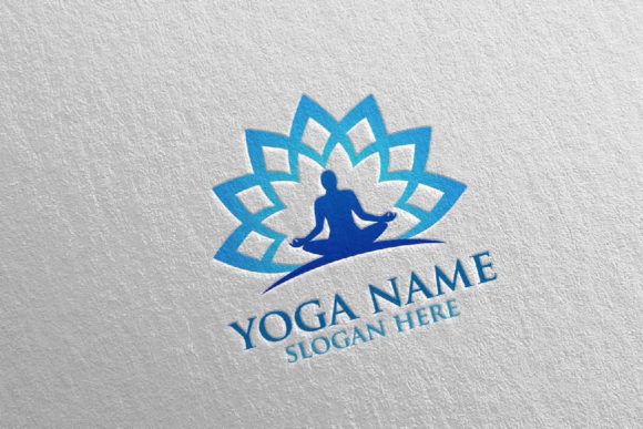 Download Free Yoga And Spa Lotus Flower Logo 47 Graphic By Denayunecf for Cricut Explore, Silhouette and other cutting machines.