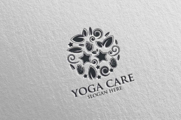 Download Free Yoga And Spa Lotus Flower Logo 62 Graphic By Denayunecf for Cricut Explore, Silhouette and other cutting machines.