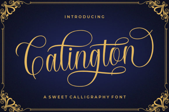 Print on Demand: Calington Script & Handwritten Font By supotype - Image 1