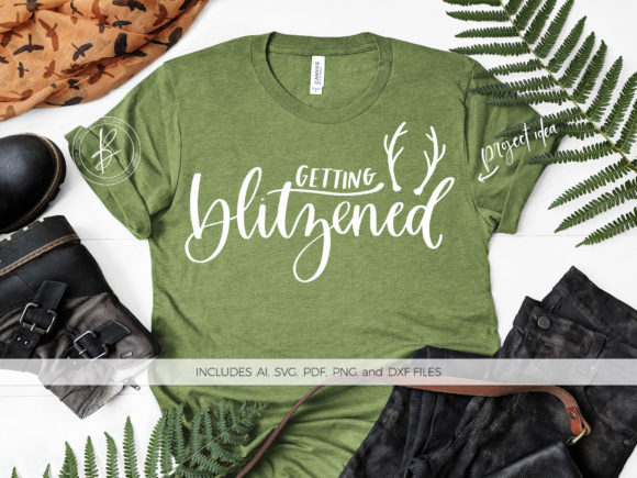 Print on Demand: Getting Blitzened Graphic Crafts By BeckMcCormick