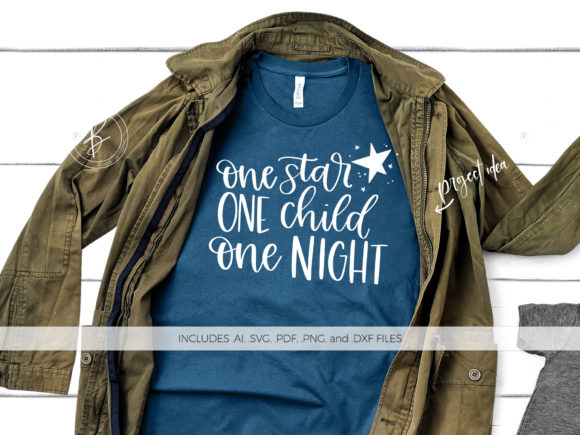 Print on Demand: One Star One Child One Night Graphic Crafts By BeckMcCormick
