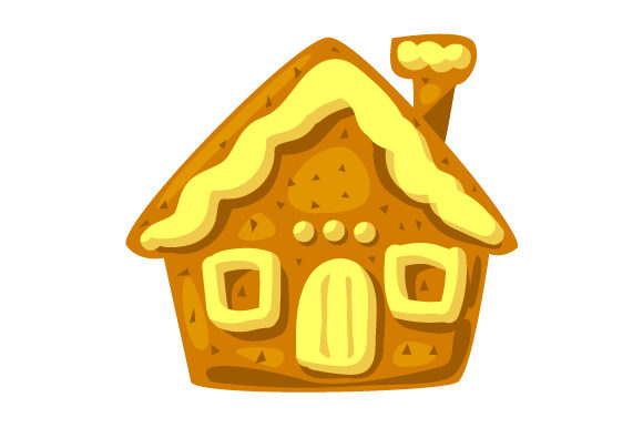 Download Free Ginger Bread House Svg Cut File By Creative Fabrica Crafts for Cricut Explore, Silhouette and other cutting machines.