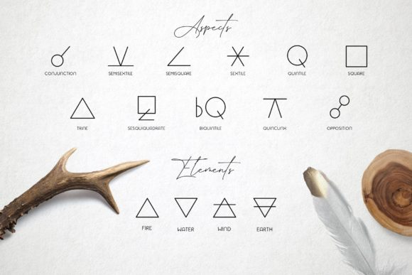 Zodiac Signs and Constellations Graphic Icons By Alisovna - Image 7