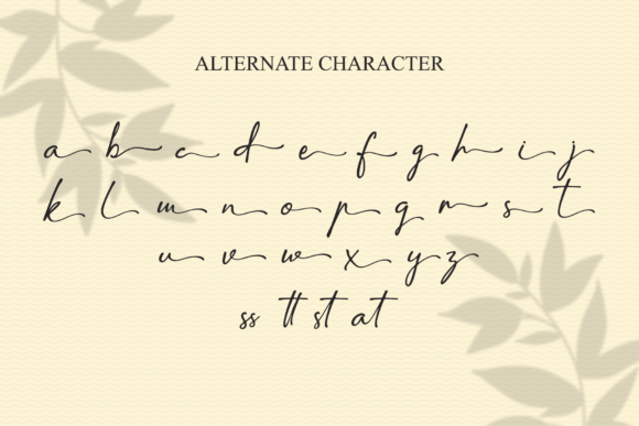 Print on Demand: Amatins Script & Handwritten Font By LetterBeary - Image 8