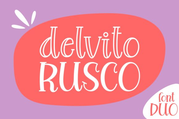 Print on Demand: Delvito Rusco Script & Handwritten Font By Keithzo (7NTypes)