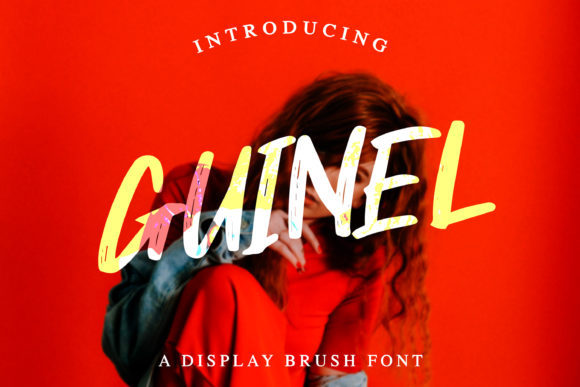 Print on Demand: Guinel Display Font By dwikrisdiantoro9