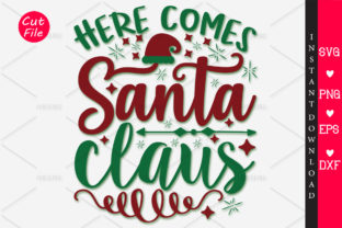 Download Free Here Comes Santa Claus Svg Graphic By Orindesign Creative Fabrica for Cricut Explore, Silhouette and other cutting machines.